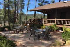 Flagstone Outdoor Dining/Meeting
